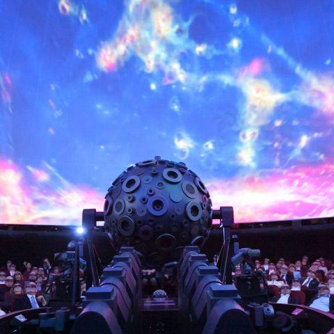 planetárium upciti