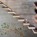 12 példa korlát nélküli lépcsőkre